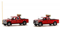 Sword Models Ford F250 pickup escort set red